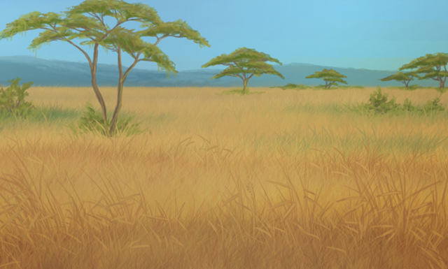 Temperate Savannah Background