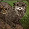 Scavenging Otter