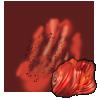 Dust: Carnelian applicator.