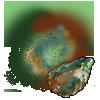 Dust: Moss Agate applicator.
