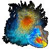 Dust: Opal applicator.