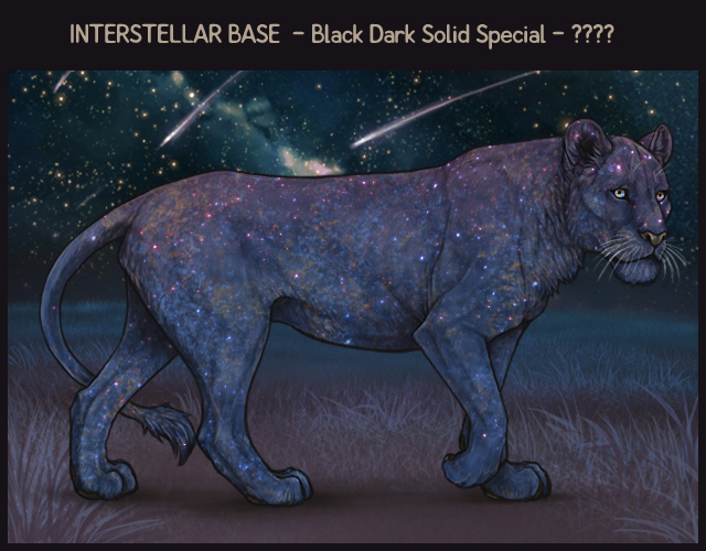 A mockup of an Interstellar-based lioness. It is a Black Dark Solid Special base.