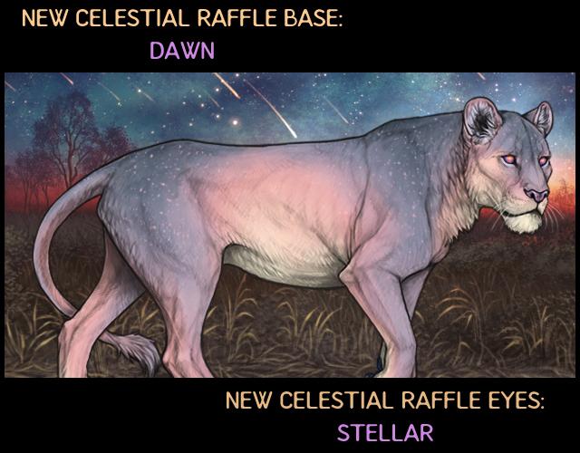 A mockup of a Dawn-based lioness with Stellar eyes.